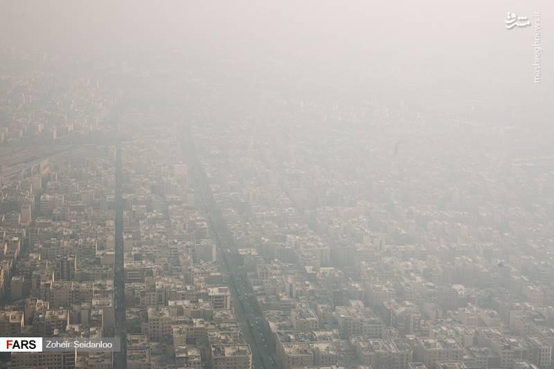 هیولای هولناک آلودگی هوا در ایران