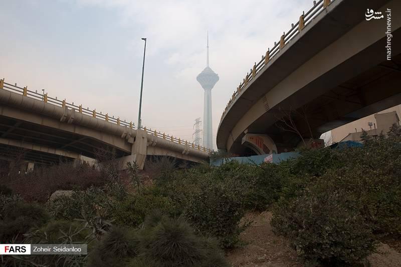 وضعیت وخیم آلودگی هوای تهران