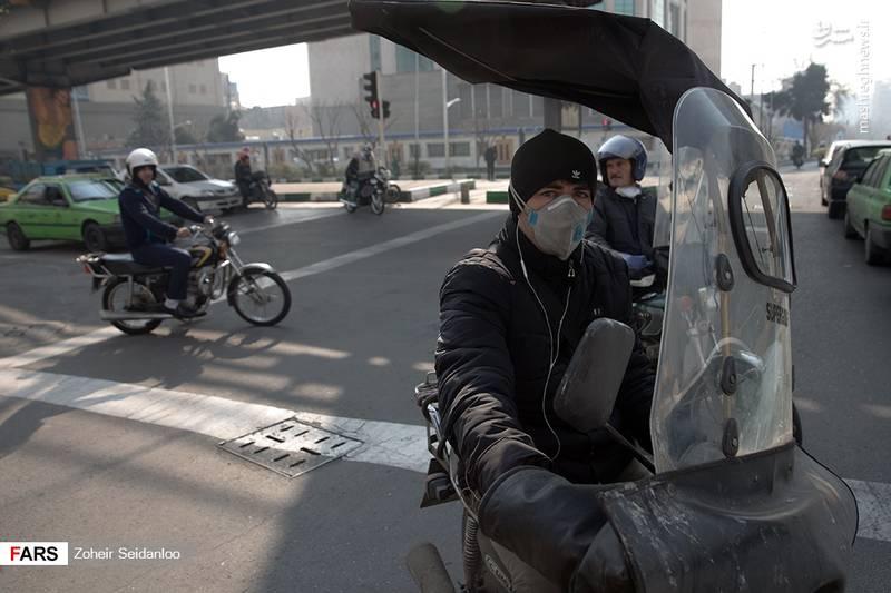 هوای تهران برای همه ناسالم است