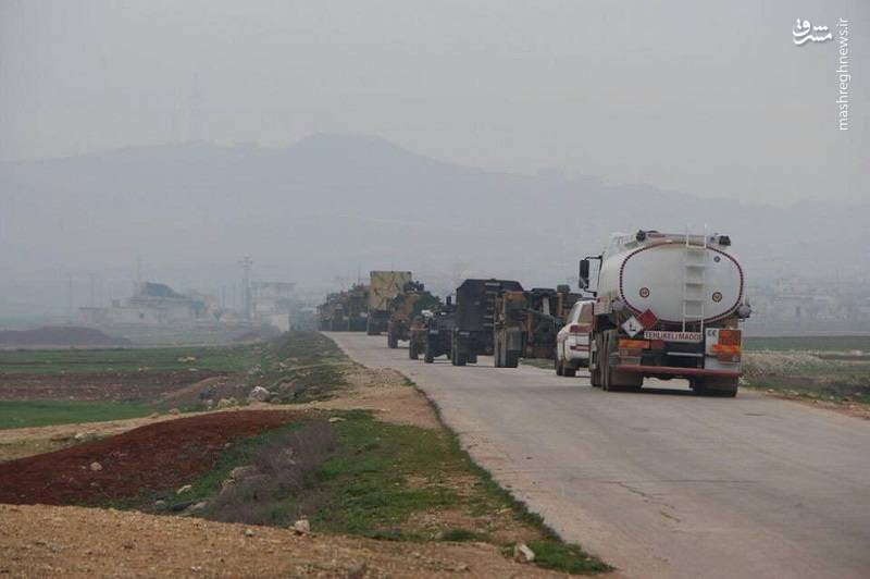 ارتش ترکیه در حلب سوریه