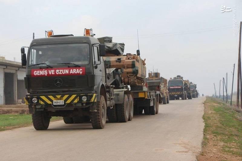 تجهیزات نظامی ارتش ترکیه در سوریه