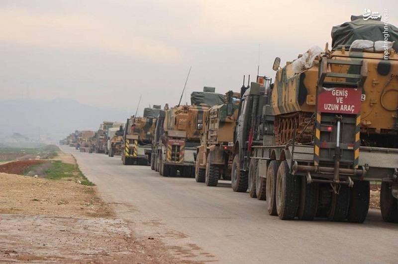 نیروی های ترکیه در حلب