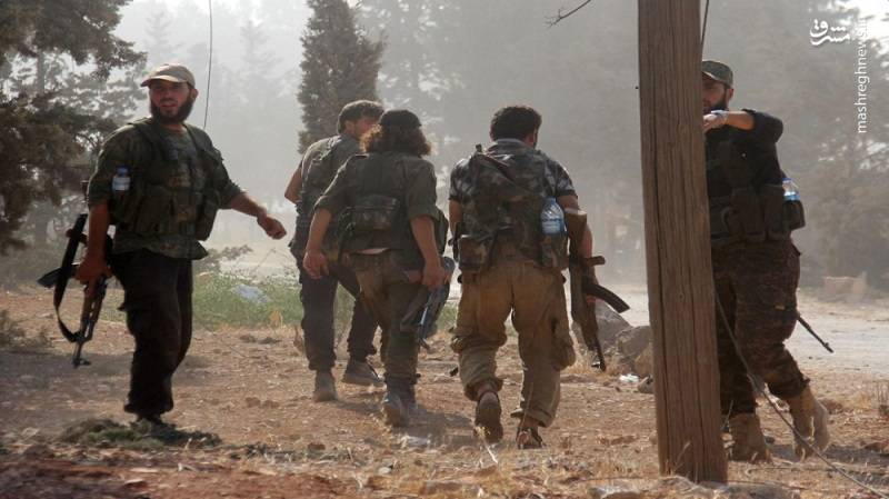 درگیری جبهه مقاومت با ارتش ترکیه