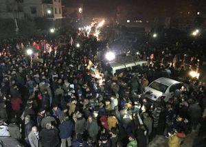 انتقال صدها شبه نظامی کرد از شرق سوریه به عفرین