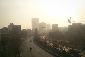 آلایندهها همچنان مهمان تهرانیها +عکس