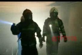 اولین تصاویر از نفوذ آتشنشانان به طبقه منفی ۴
