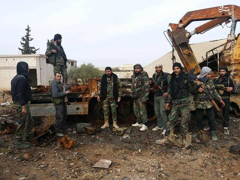 فرماندهان میدانی ارتش سوریه از حلب و ادلب بازدید کردند