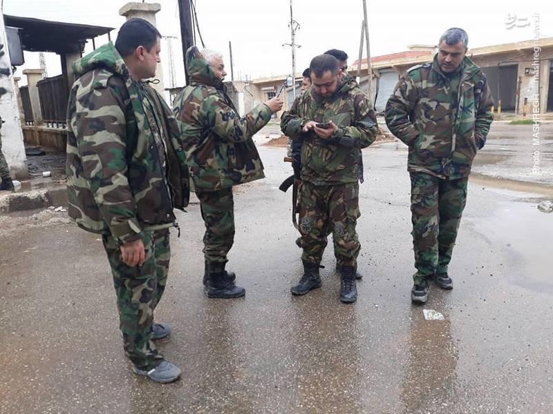 بررسی شرایط میدانی جبهه حلب و ادلب