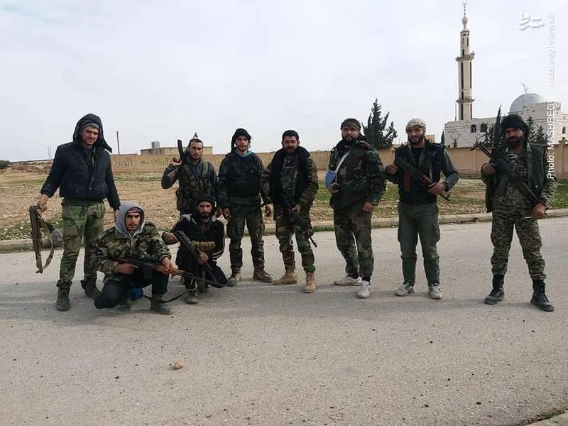 بازدید فرماندهان میدانی ارتش سوریه از حلب و ادلب