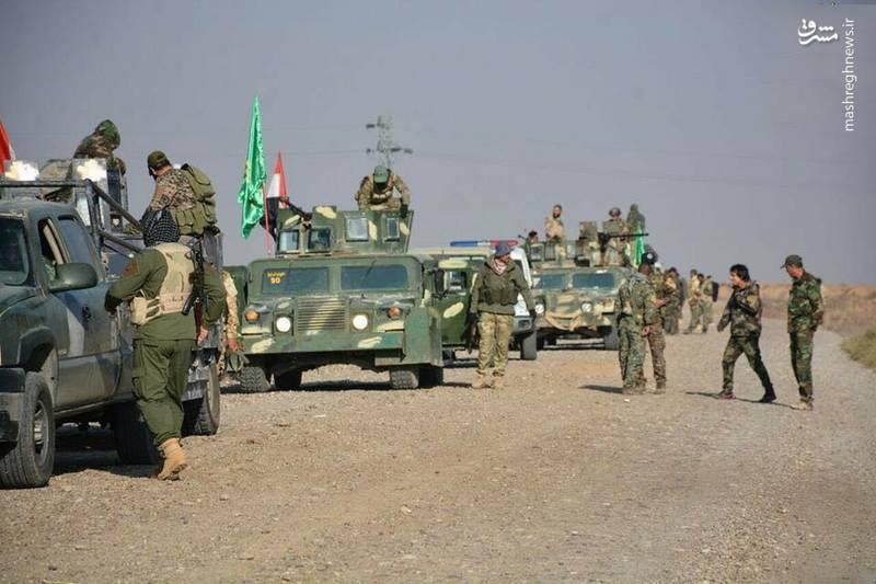 پیشروی بسیج مردم عراق در کرکوک