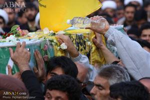 عکس/ تشییع شهید مدافع حرم اسماعیل سروری