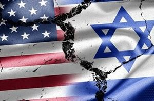 پرچم آمریکا و اسرائیل نمایه