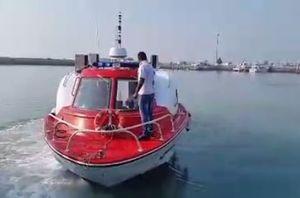 فیلم/ افتتاح اولین آمبولانس پیشرفته دریایی