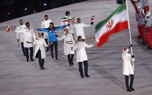 فیلم/ رژه کاروان ورزشی ایران در المپیک زمستانی 2018
