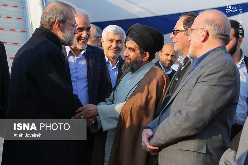 استقبال از علی لاریجانی در اصفهان