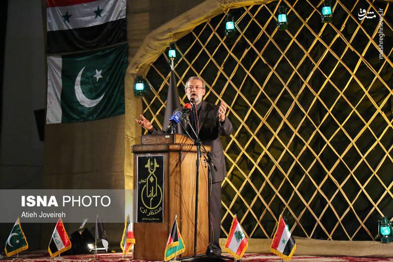 سخنرانی علی لاریجانی در بزرگداشت شهدای مدافع حرم اصفهان