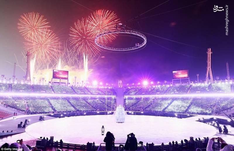 مراسم  افتتاحیه المپیک زمستانی ۲۰۱۸