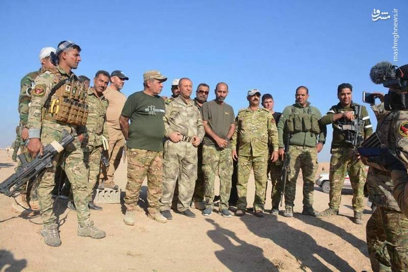 عملیات نیروهای عراقی در حومه منطقه « طوزخور ماتو» برای نابودی پرچم سفید ها