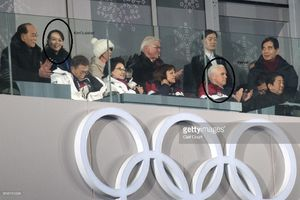 عکس/ نماینده کره شمالی در چند قدمی معاون ترامپ