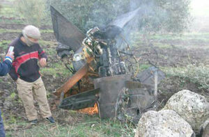 فیلم/ لحظه سقوط جنگنده F-16 اسرائیل