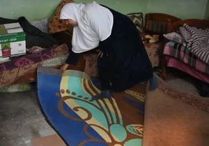 چرا مادر عراقی پسرش را در خانه دفن کرد؟ +فیلم