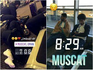 عکس/ خوابیدن طارمی و همبازیهایش در فرودگاه!