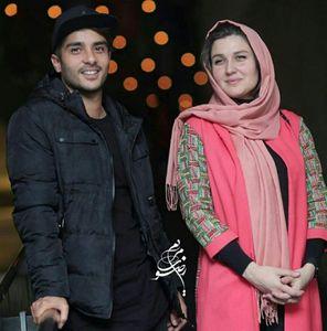 عکس/ ساعد سهیلی و همسرش در جشنواره فجر