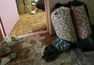 عکس/ انفجار مواد محترقه در دولتآباد تهران