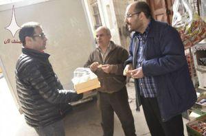 عکس/ شادی مردم دمشق از موفقیت ارتش سوریه