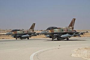 حضور خلبانان اماراتی و اسراییلی در یک رزمایش