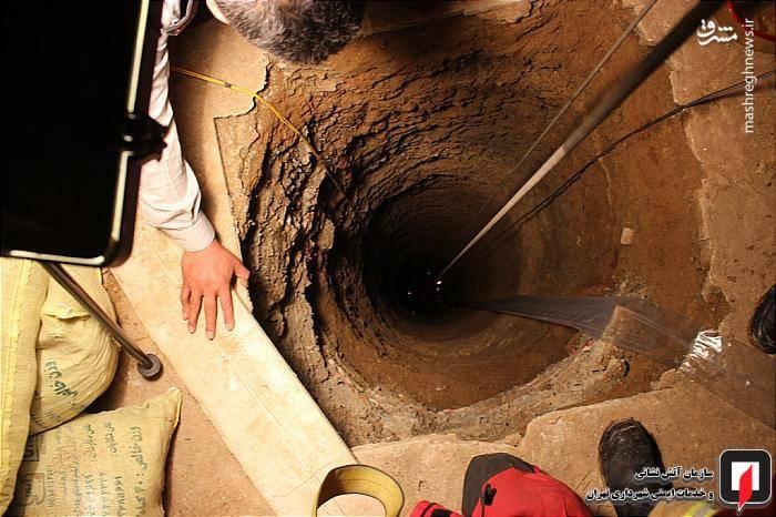در قسمت حیاط یک ساختمان در حال تخریب، کارگران مشغول حفر یک حلقه چاه بودند که بنا به اظهار شاهدان، یکی از کارگران حین ورود به چاه ناگهان بی هوش شده و به عمق 26 متری چاه سقوط کرده بود.