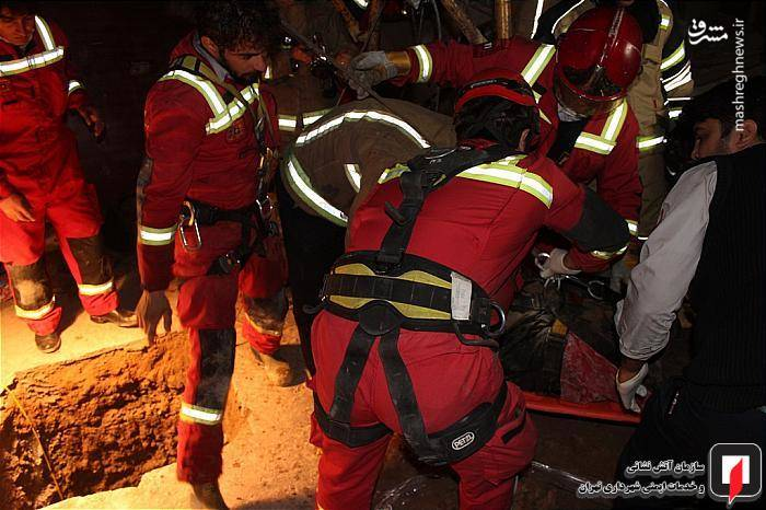 سقوط مرگبار کارگر چاه کن در جوادیه