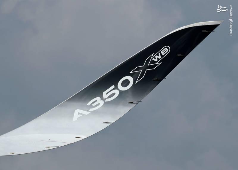 حضور ایرباس A350-1000 در نمایشگاه سنگاپور
