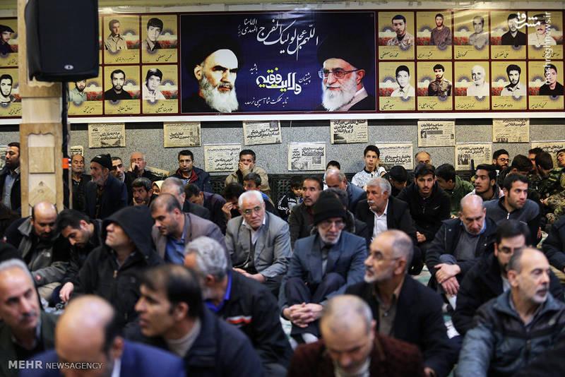 حضور مردم در مراسم گرامیداشت شهید محمد معافی