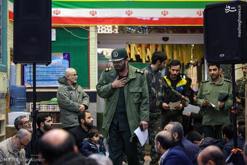 """در 30 دی ماه در شهر """"البوکمال"""" در استان دیرالزور سوریه به فیض شهادت نائل امد."""