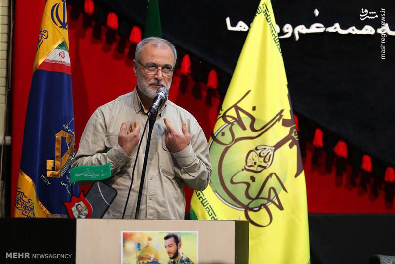 گرامیداشت شهید مدافع حرم محمد معافی در کرج