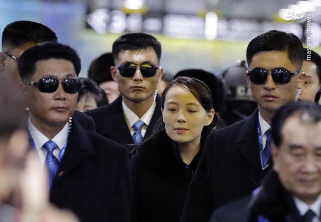 خواهر کیم جونگ اون نماینده کره شمالی در مسابقات المپیک در کره جنوبی
