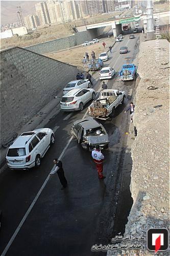 علت بروز این حادثه رانندگی، از سوی کارشناسان پلیس راهور اعلام می شود