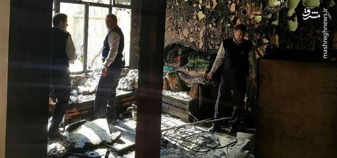 انفجار مواد محترقه در دولتآباد تهران