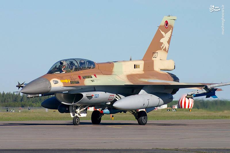 یک فروند اف ۱۶ دی اسراییلی