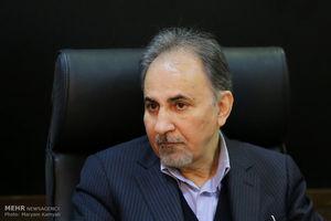 توئیت شهردار تهران همزمان با استعفا