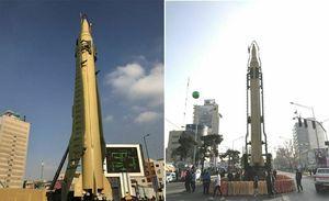 ایران در سالروز انقلاب، با موشک قدر قدرتنمایی کرد