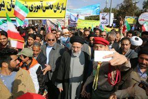 پست اینستاگرامی رئیسی پس از راهپیمایی ۲۲ بهمن