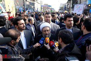 آملی لاریجانی :مردم با حضور گسترده بار دیگر اقتدار ملی را به نمایش گذاشتند