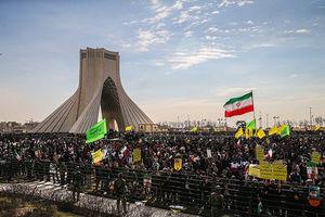 فیلم/ تایملپس راهپیمایی 22 بهمن از برج آزادی
