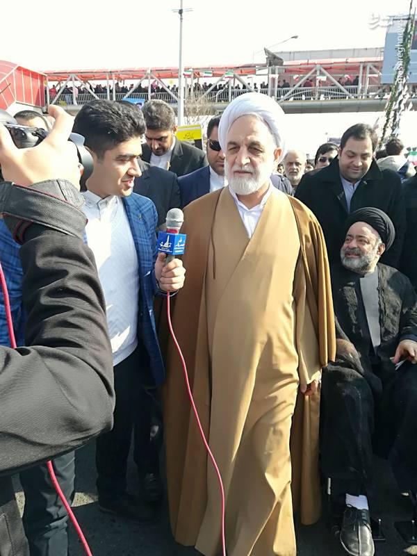 غلامحسین محسنی اژهای سخنگو و معاون اول قوه قضائیه جمهوری اسلامی ایران