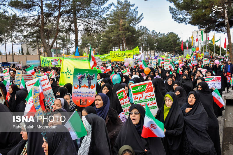 راهپیمایی ۲۲بهمن در بیرجند
