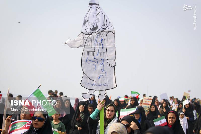 راهپیمایی ۲۲بهمن در بندرعباس