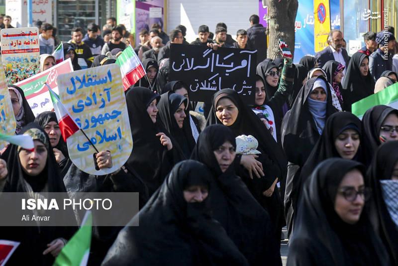 راهپیمایی ۲۲بهمن در اردبیل