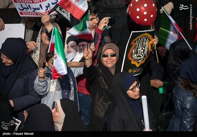 راهپیمایی ۲۲ بهمن در کرمانشاه